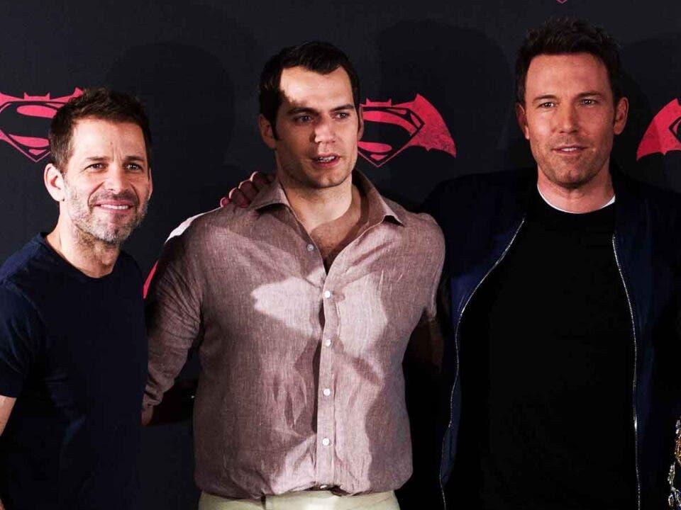 Zack Snyder quiere a Ben Affleck y Henry Cavill en su nueva película
