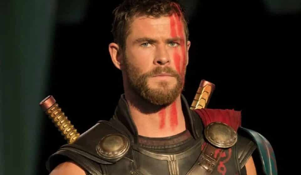 Chris Hemsworth celebró el aniversario de Thor