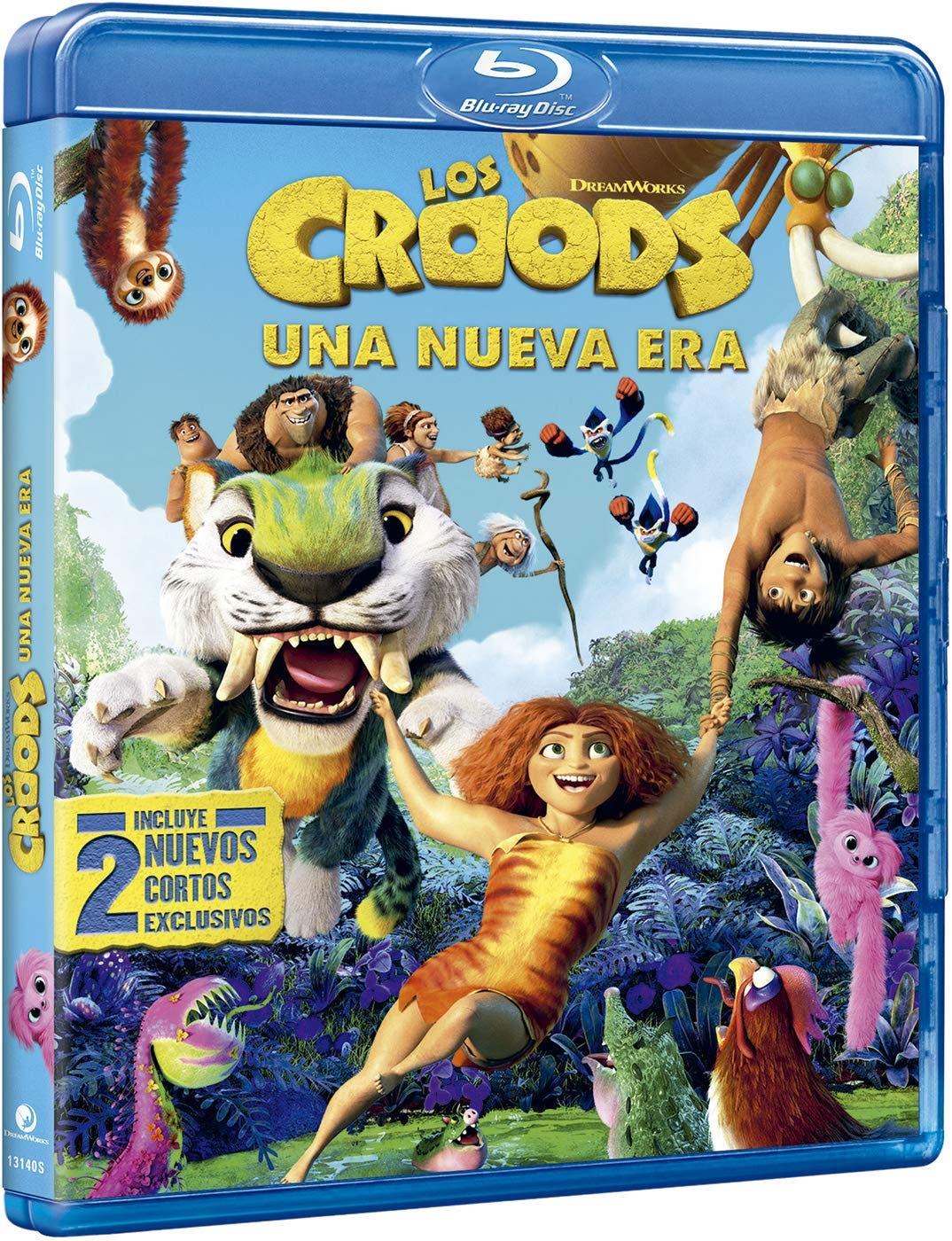 Los Croods 2: Una nueva era [Blu-ray]