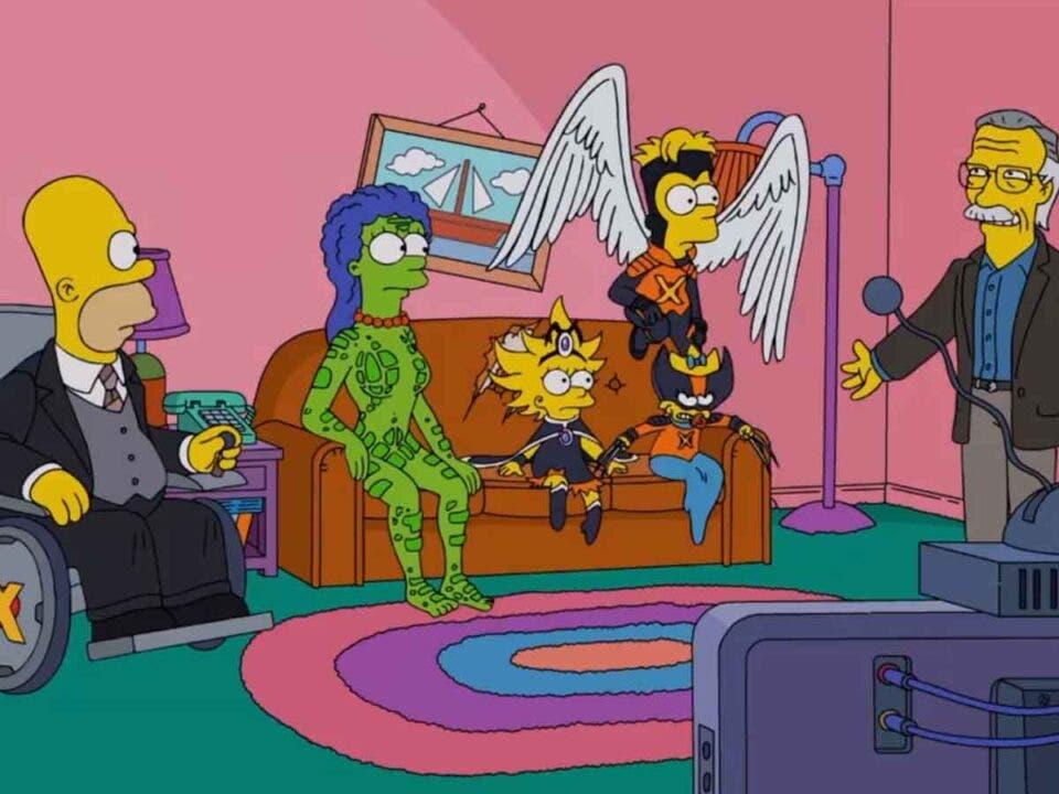 Vídeo de las mejores referencias de Los Simpson a Marvel
