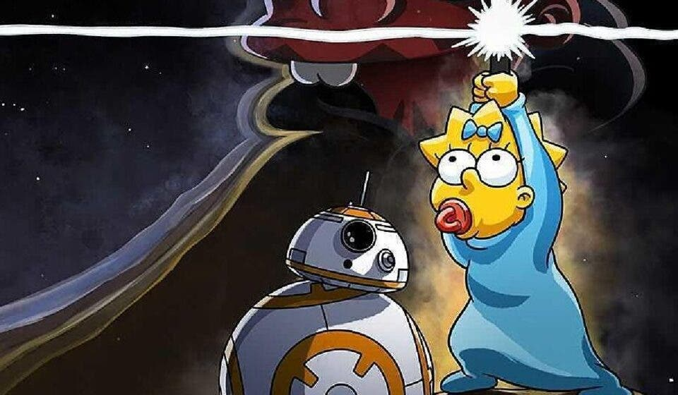 The Simpsons premieres a Star Wars short
