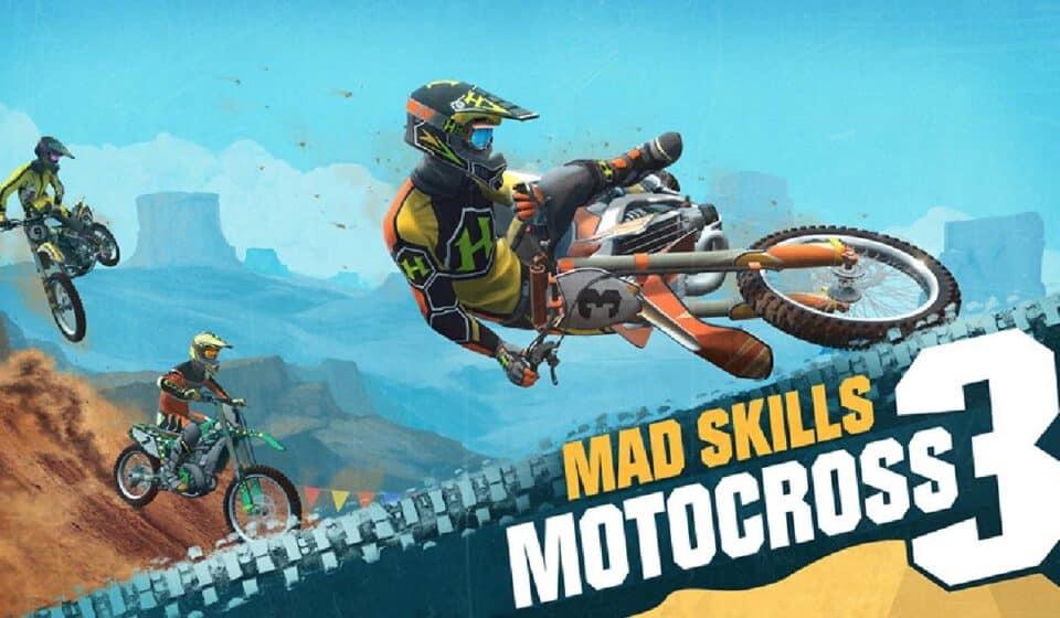 Mad Skills Motocross 3 lanzó su fecha de lanzamiento con un increíble trailer