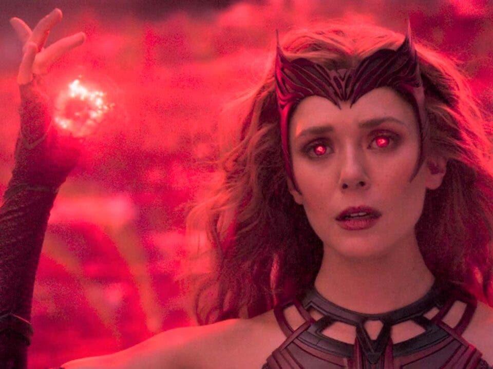 Elizabeth Olsen confirma que bruja escarlata puede viajar por el multiverso
