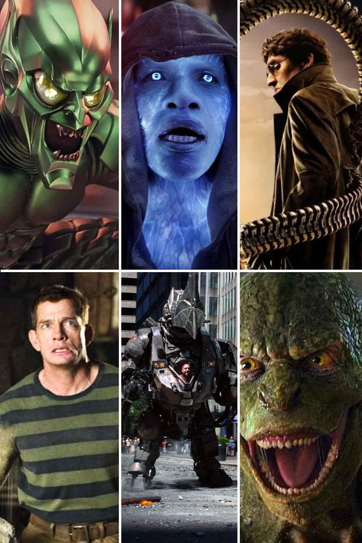 Los seis villanos que podrían aparecer en Spider-Man: Sin camino a casa