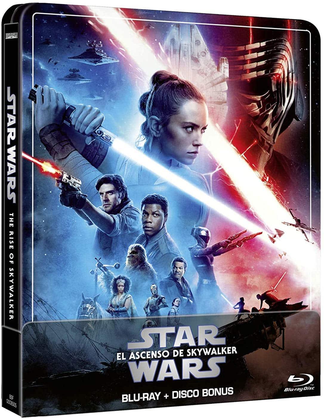 Star Wars: El Ascenso de Skywalker - Steelbook 2 disco