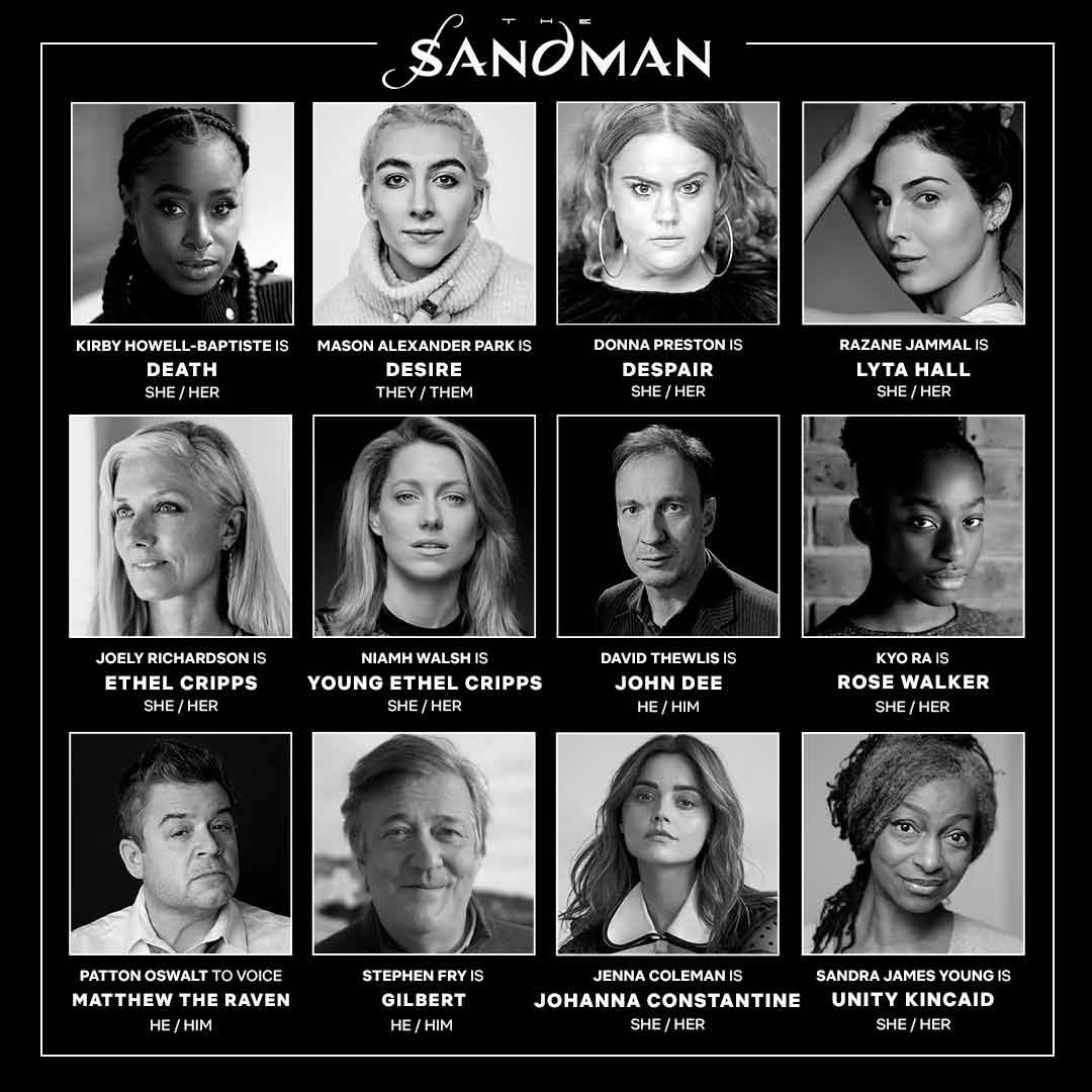 the Sandman New Cast