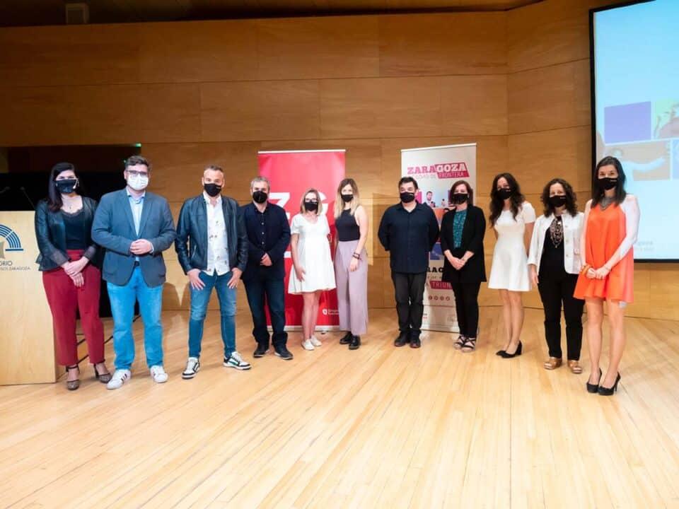 Tik Tok elegirá a los protagonistas de una nueva serie de ficción. Presentación de Zaragoza ciudad de frontera