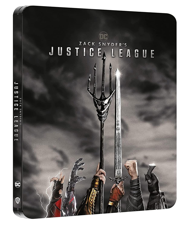 La Liga de la Justicia de Zack Snyder - Steelbook 4k UHD (2 discos 4k UHD) [Blu-ray]