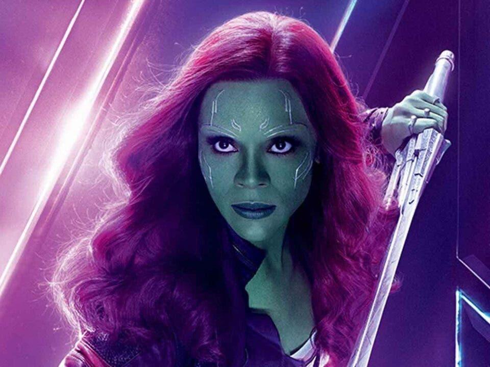 Así regresa Zoe Saldana como Gamora a Guardianes de la Galaxia Vol 3