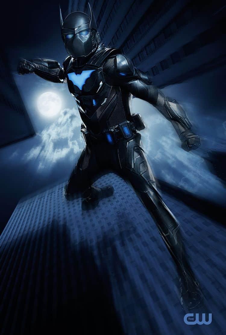 Así se verá Batwing en el universo televisivo de DC