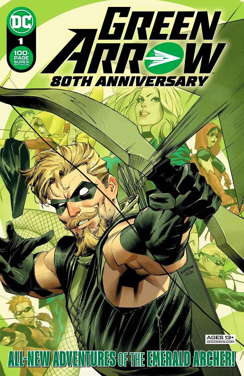 cover especial 80 aniversario Green Arrow