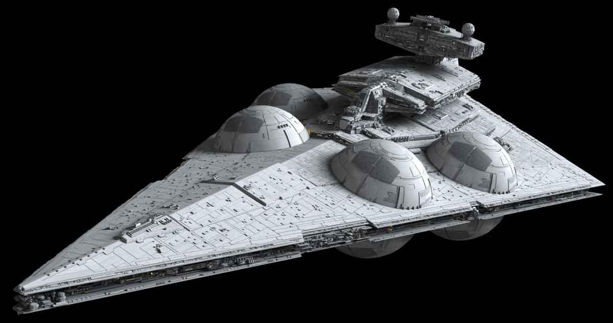 Destructor Estelar Interdictor star wars