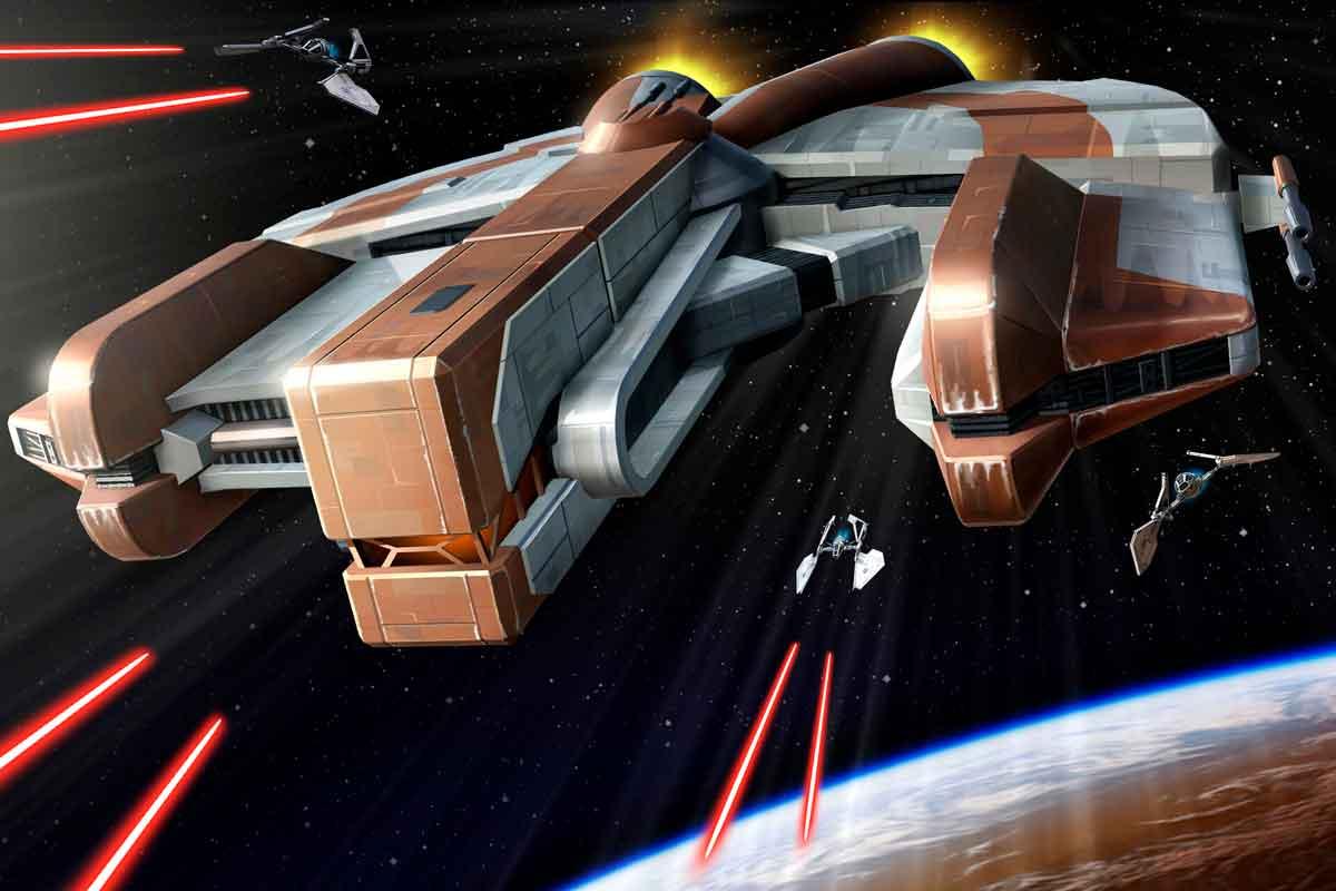 Ebon Hawk - star wars