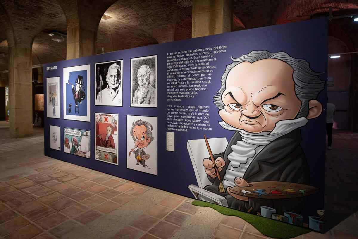 El  cómic y Goya. Una muestra de veneración