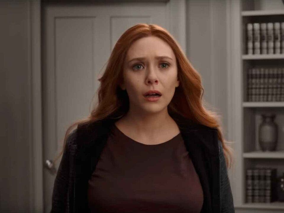 Elizabeth Olsen revela lo asustada que estaba por la serie WandaVision