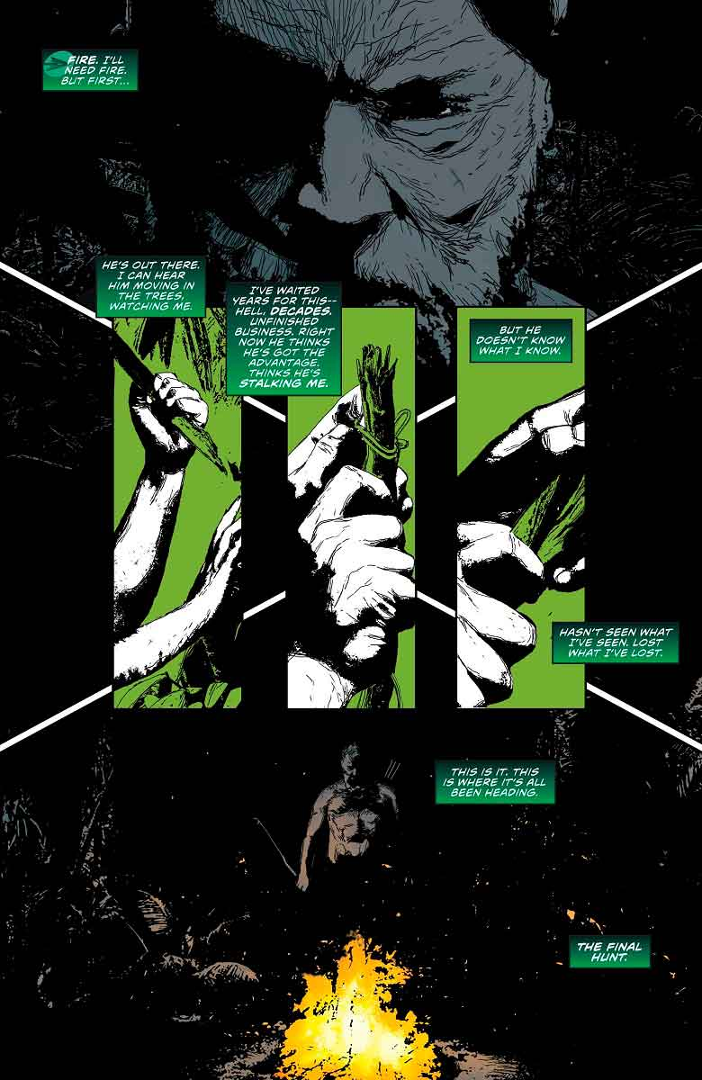 green arrow page