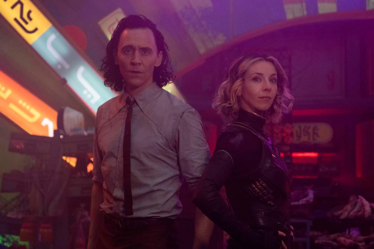 Loki y sylvie