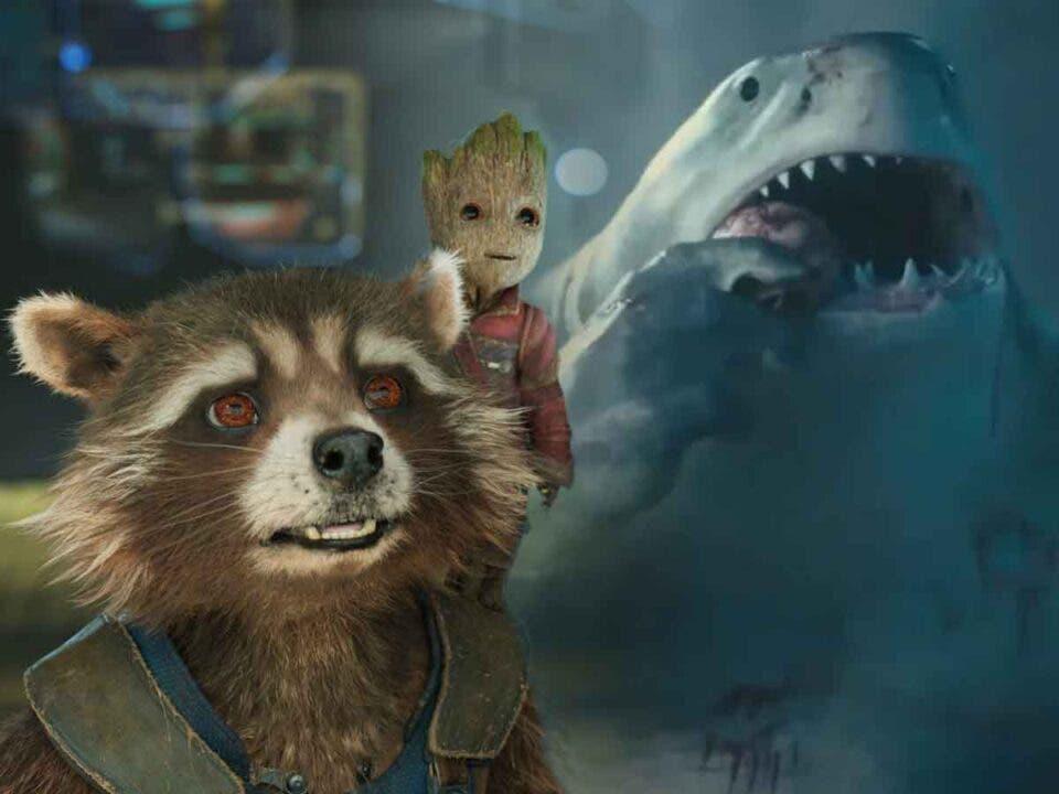 Motivo por el que King Shark fue más difícil de crear que Rocket o Groot