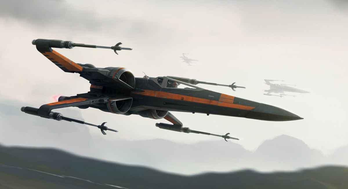 Poe Dameron X-wing