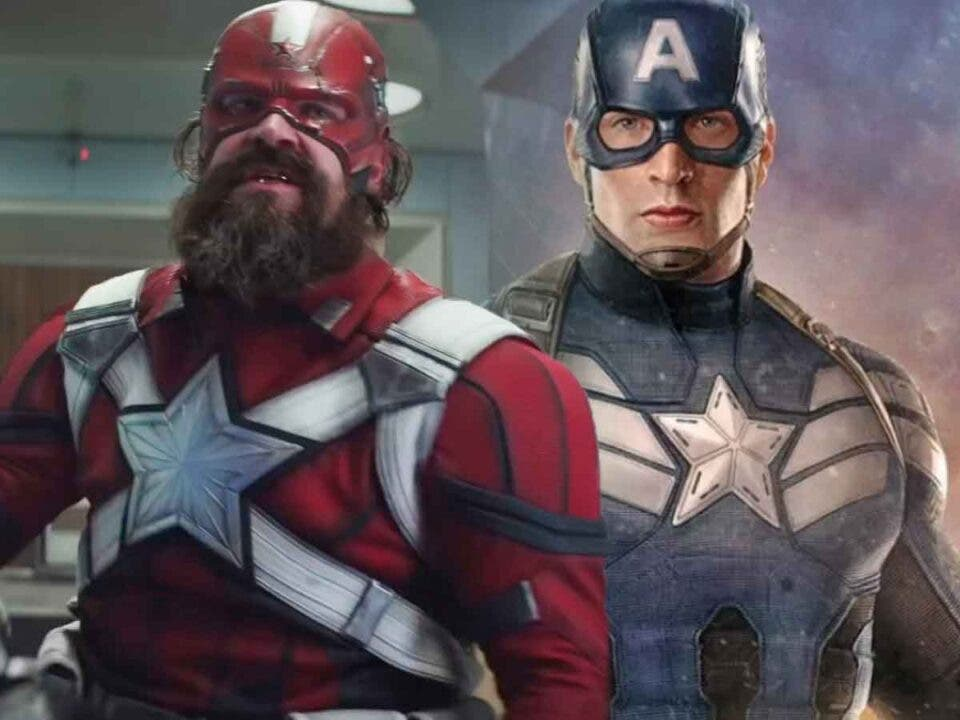 Red Guardian vs Capitán América el gran combate de Marvel Studios
