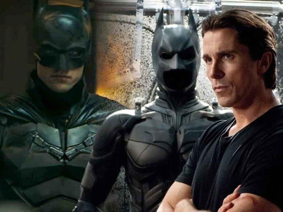 Robert Pattinson ha creado un Batman muy diferente al de Christian Bale