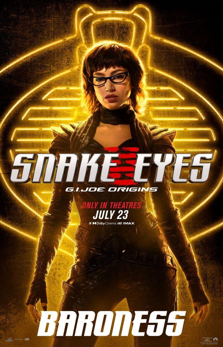 Snake Eyes Baroness The Baroness