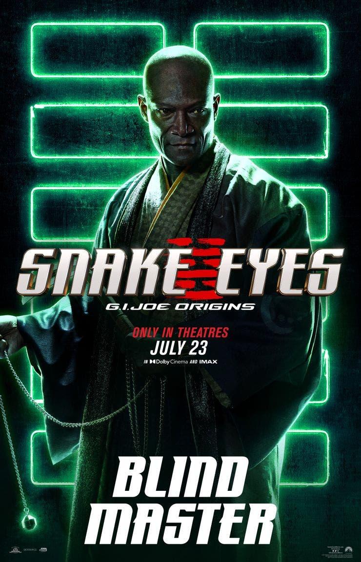 Snake Eyes Blind Master