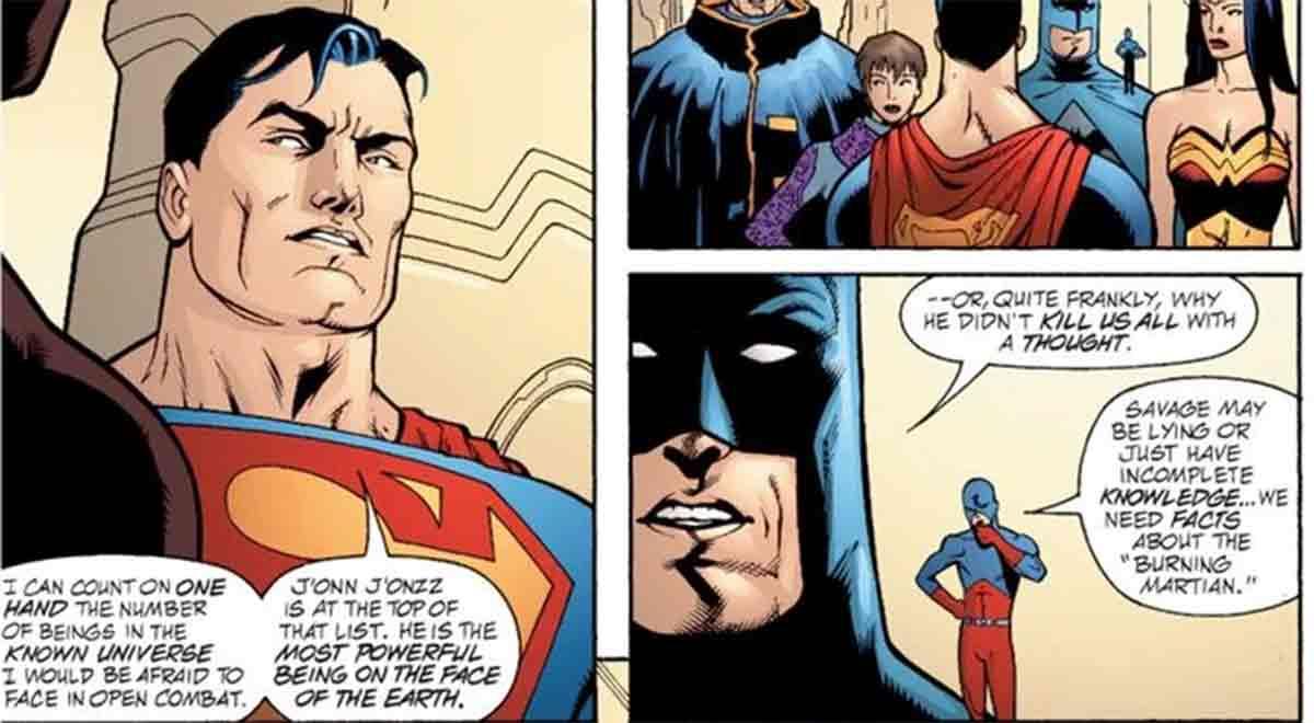 Superman solo tiene miedo a pelear con un héroe de la Liga de la Justicia