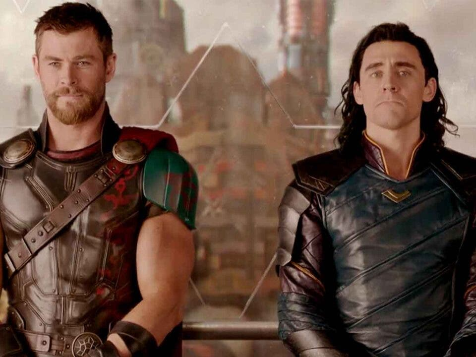 Tom Hiddleston Loki Chris Hemsworth Thor