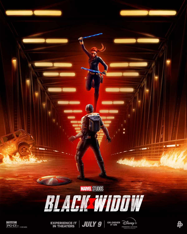 Viuda negra poster
