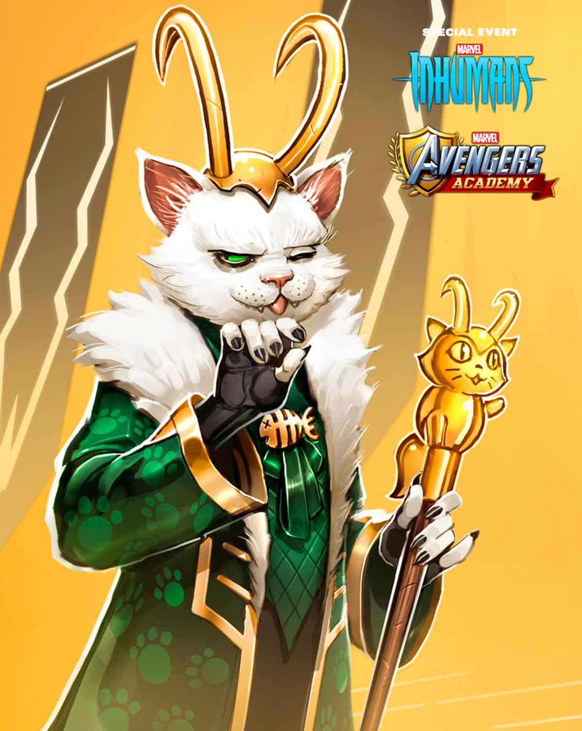 el dios del engaño en forma de gato