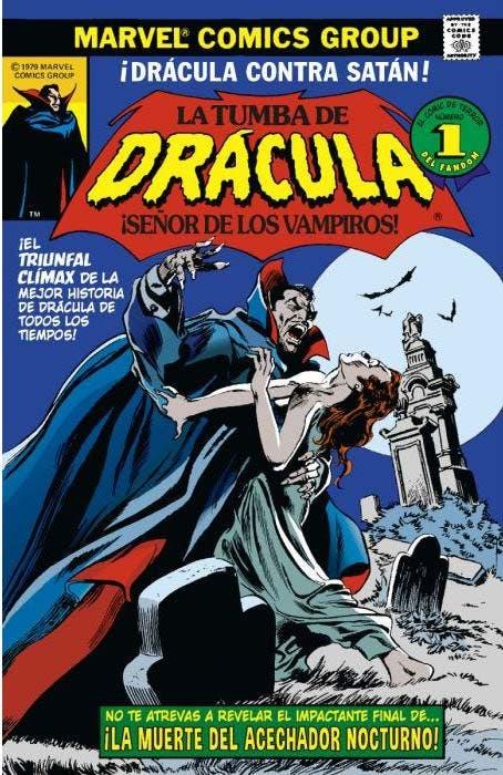 Biblioteca Drácula. La Tumba de Drácula 9 de 10