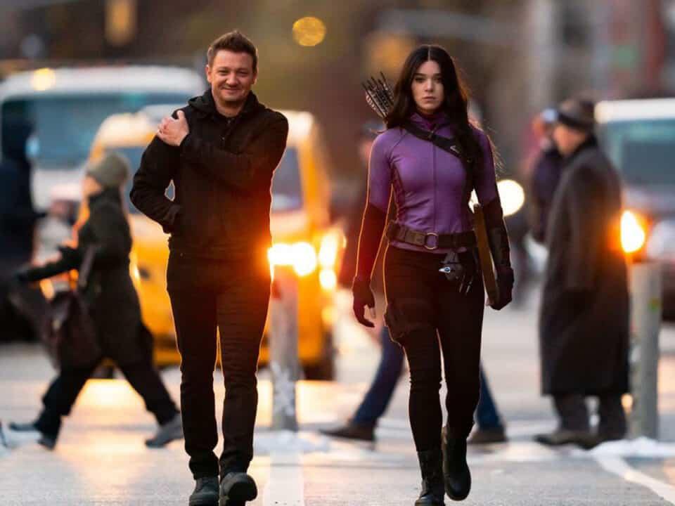 La nuevas imágenes de Hawkeye revelan un personaje más