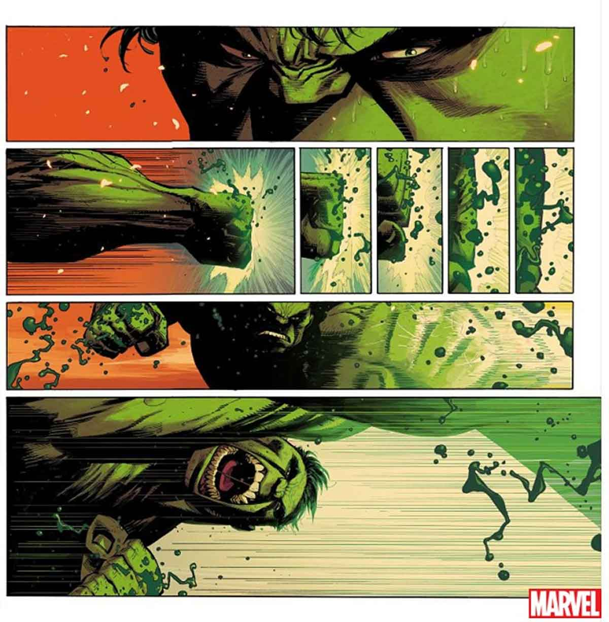 Marvel reiniciará a Hulk buscando una respuesta para su ira