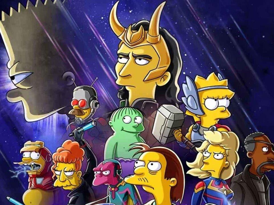 Los Simpson estrenarán un cortometraje sobre Marvel Studios