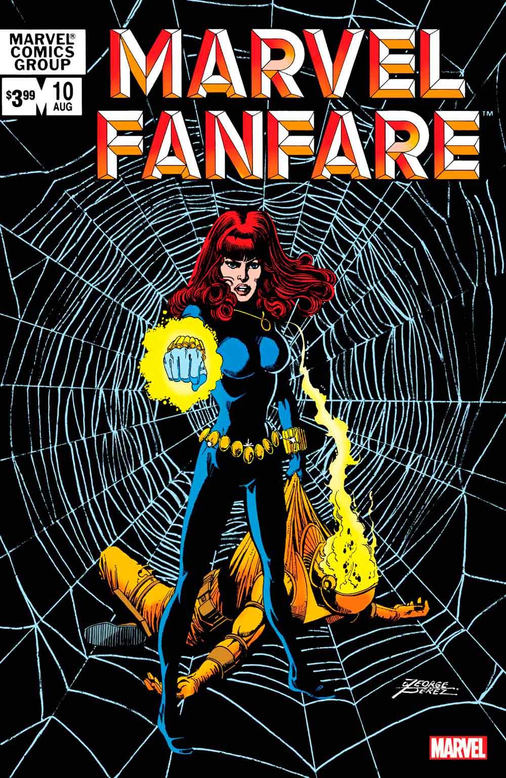 Black Widow marvel fanfare