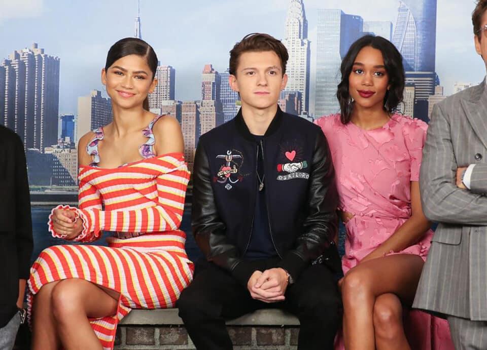Laura Harrier pensó que perdió su papel en Spider-Man por Zendaya