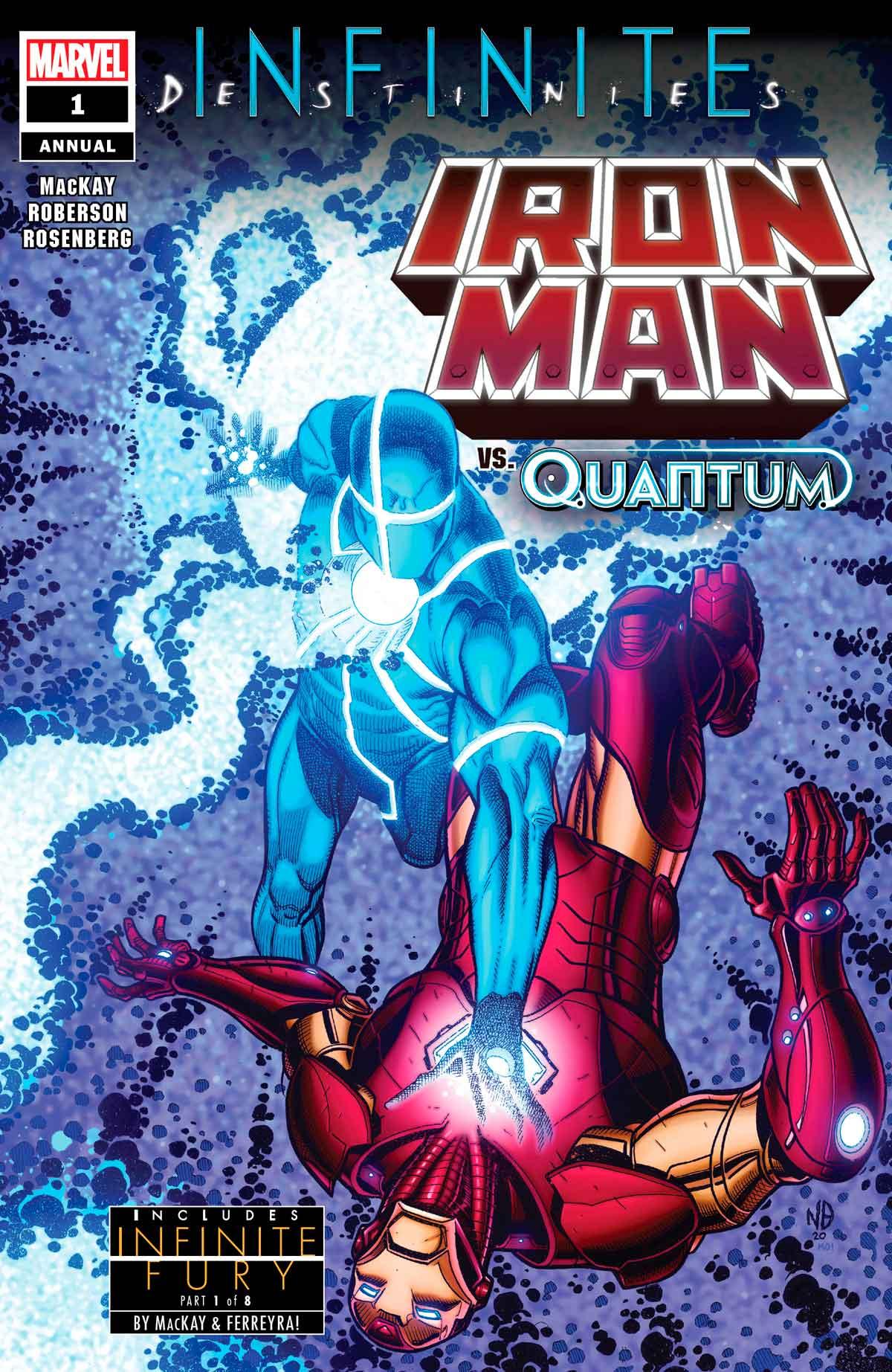 Portada Iron Man Annual (2020)