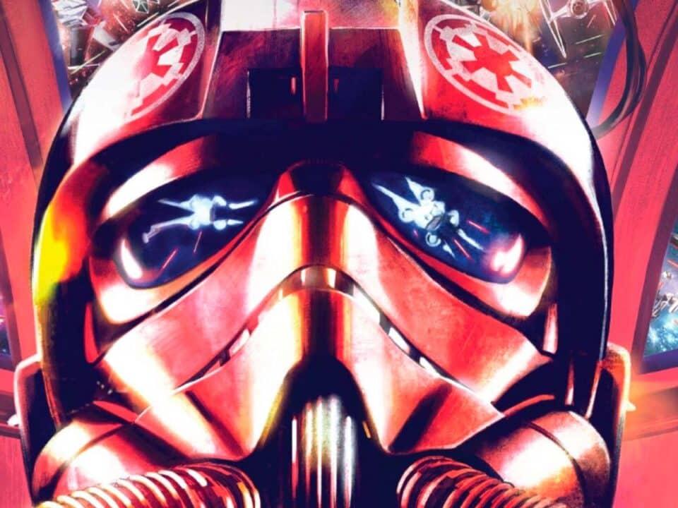 portada Star Wars CAZA TIE