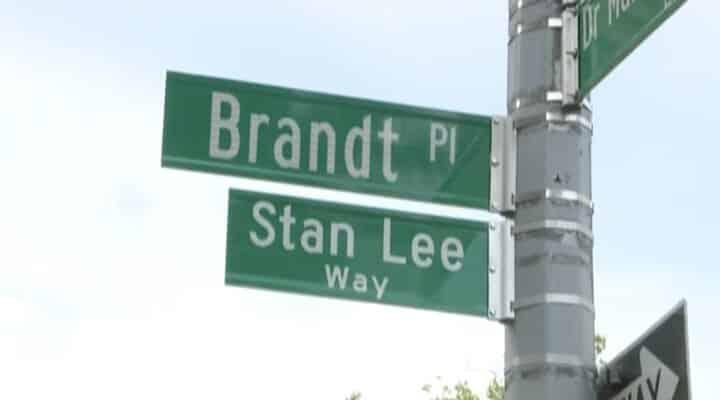 Stan Lee tiene su propia calle en Nueva York