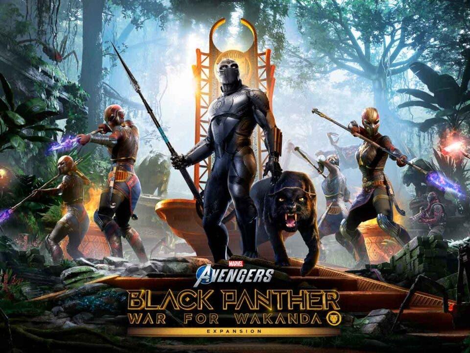 Black panther guerra por wakanda