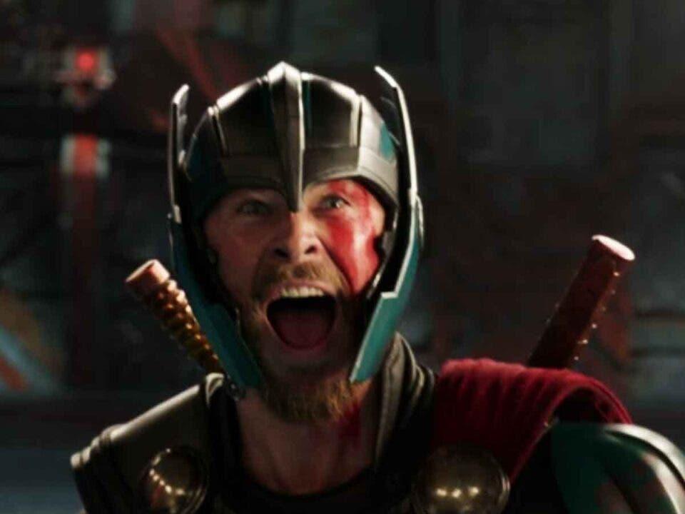 Chris Hemsworth está más divertido que nunca en Thor: Love and Thunder