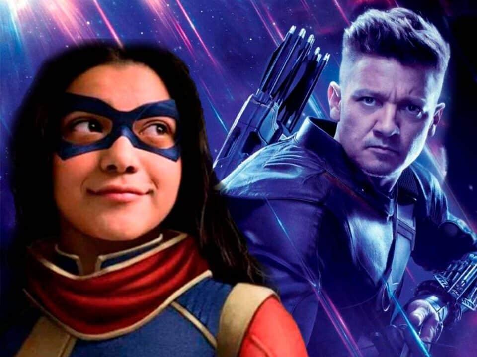 Se confirman los estrenos de Ojo de halcón y Ms. Marvel para este año