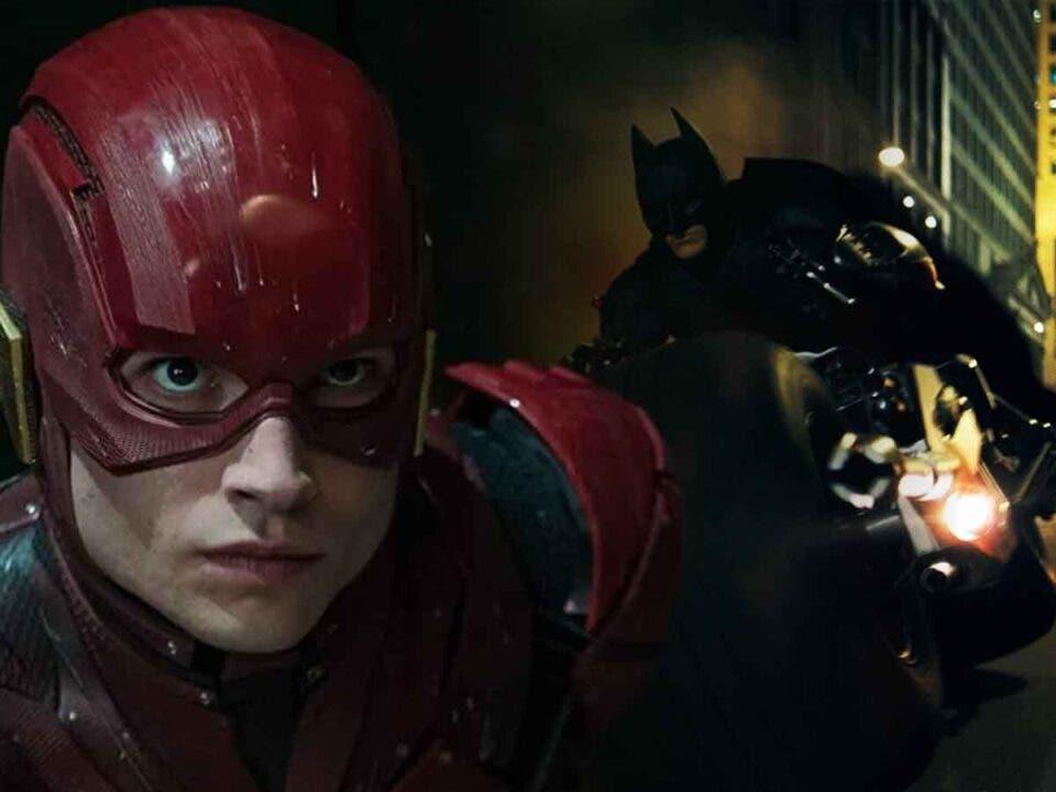 Filtran fotos de la nueva moto de Batman en la película The Flash