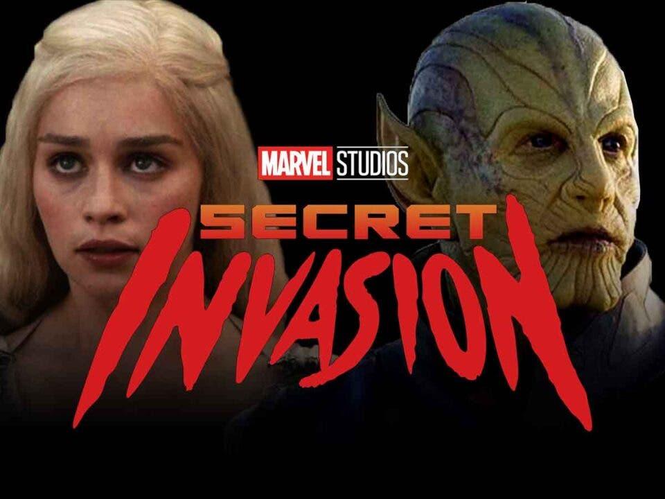 Filtran información de los personajes Invasión Secreta de Marvel Studios