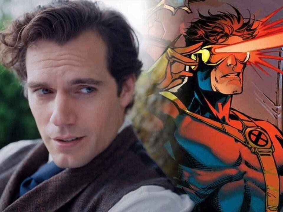 Espectacular Fan Art de Henry Cavill como Cíclope de los X-Men