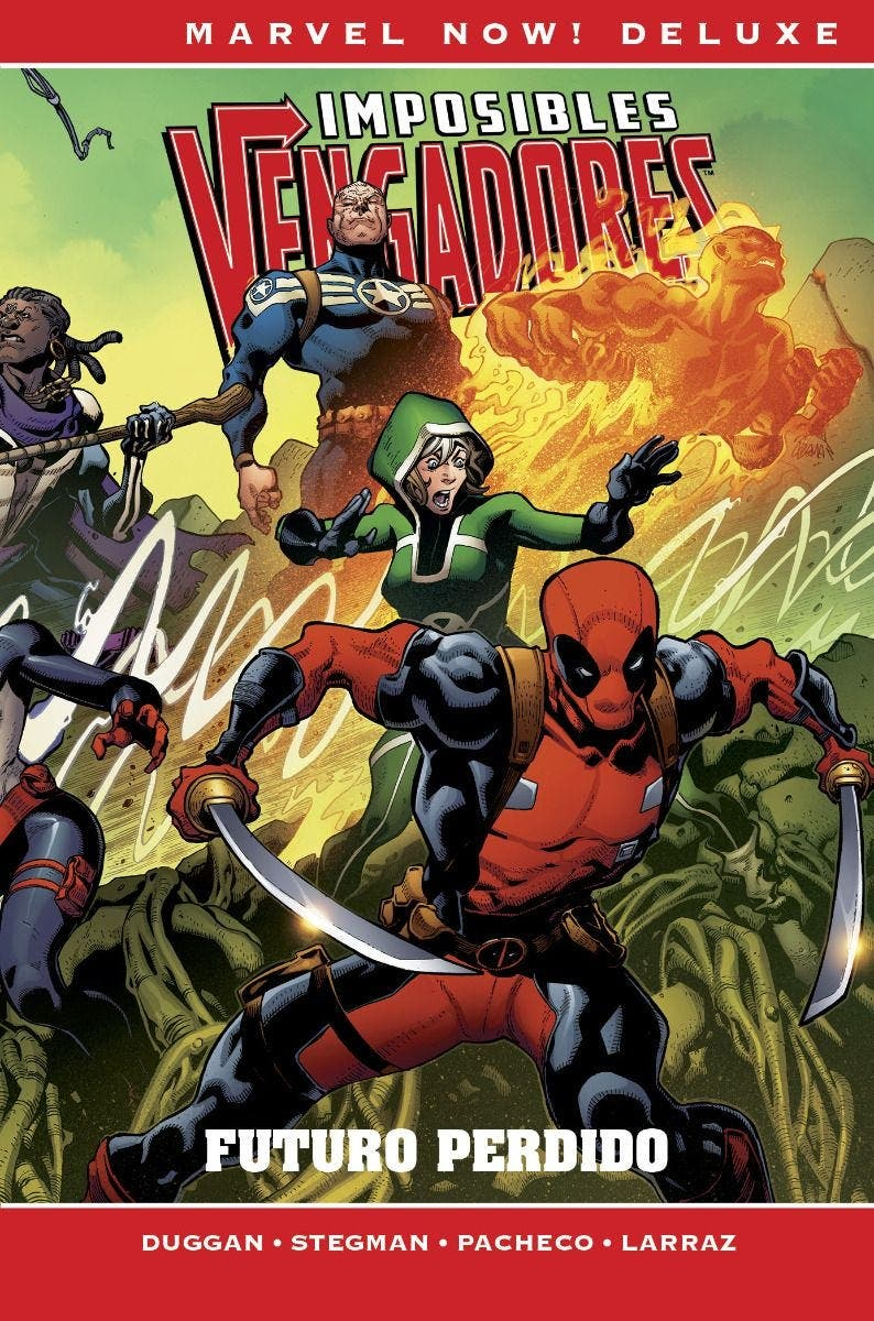 Marvel Now! Deluxe. Imposibles Vengadores 4