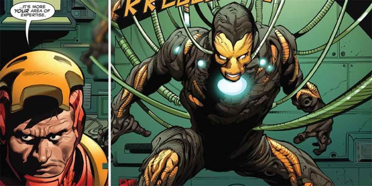 Iron Man crea la armadura más terrorífica de la historia
