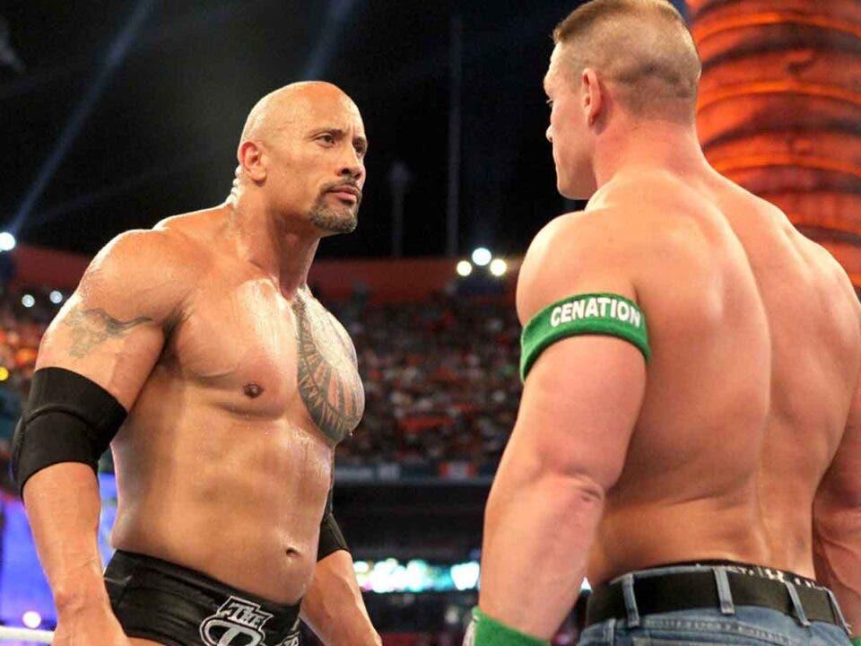 John Cena wants to face Dwayne Johnson at the movies
