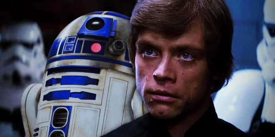 Luke Skywalker con R2
